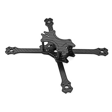 Realacc Flywin 220mm Wheelbase 4mm Arm Carbon Fiber RC Drone FPV Racing Frame Kit w/ 5/12V PDB Board