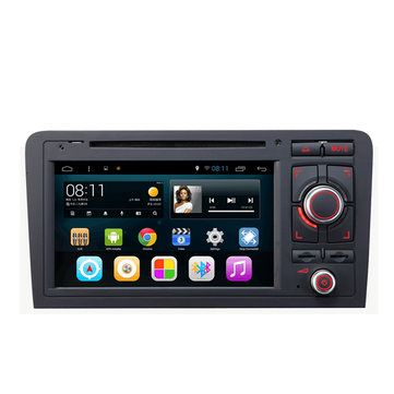 SA-703 Car DVD Music MP3 MP4 Player FM AUX in Capacitive Touch Screen Android for Audi A3 2003 to 2013