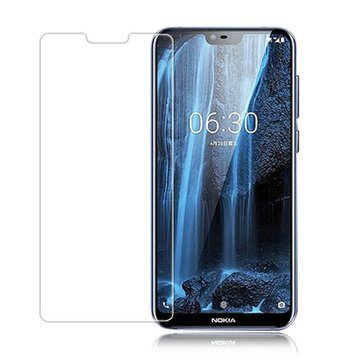 Bakeey™ Anti-scratch HD Clear Tempered Glass Screen Protector for Nokia X6 6.1 Plus