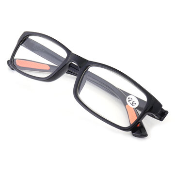 Minleaf TR90 Portable Durable light Weight Resin Black Reading Glasses Extremely Flexible