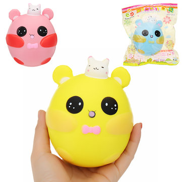 Sunny Squishy Fat Bunny Rabbit 12cm Soft Slow Rising Collection Gift Decor Toy With Packing