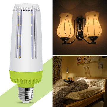 ARILUX® E27 6W 8W 10W SMD5730 Pure White Warm White No Flicker Milky Cover LED Corn Bulb AC85-265V