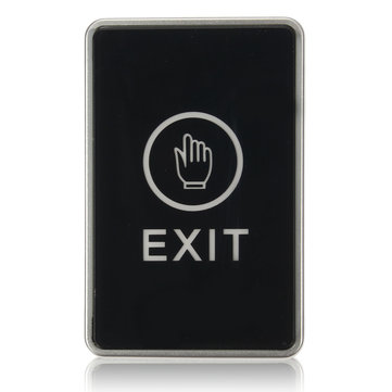 Push Touch Exit Button Door Eixt Release Button For Access Control System