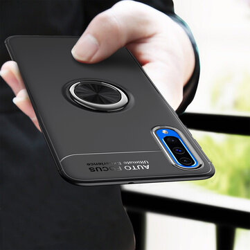 C-KU Protective Case For Samsung Galaxy A50 2019 360º Rotating Ring Grip Kicktand Back Cover
