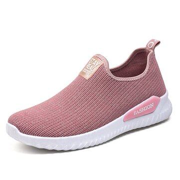 Mesh Outdoor Walking Comfy Women Sneakers