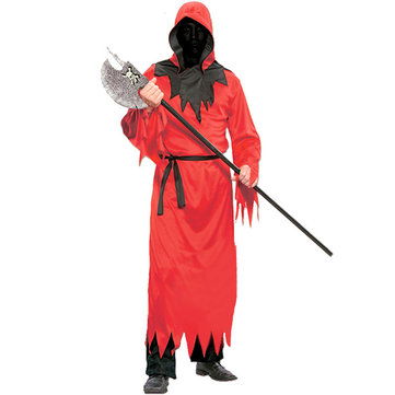 Horror Ghost Red Devil Robe Halloween Party Costumes Clothing