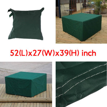 134x70x99cm Garden Outdoor Furniture Waterproof Breathable Dust Cover Table Shelter