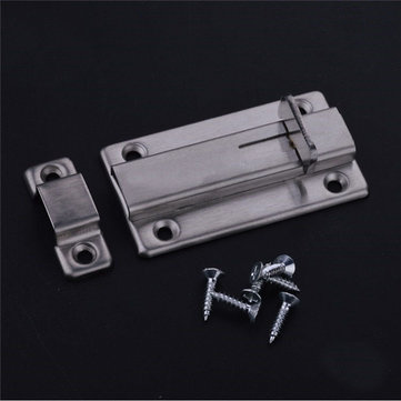 3.7 Inch Stainless Steel Door Bolt Sliding Safety Lock Latch Barrel Bolt