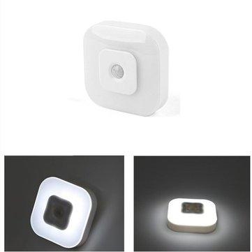 Intelligent 8 LED Night Light PIR Motion Sensor Lamp for Bedroom Bedside Cabinet
