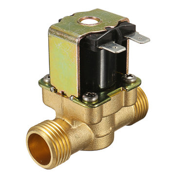 DC 12V 2-Way Normally Closed Valve Brass Electric Solenoid Valves For Air Water