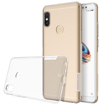 NILLKIN Ultra Fino Transparente Transparente TPU Protetora Caso Para Xiaomi Redmi Nota 5 / Redmi Nota 5 Pro