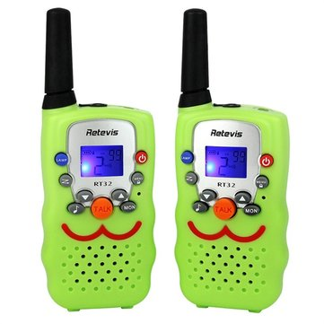 RT32 Handheld Walkie Talkie Mini Folk Child Talkie Smiling Faces