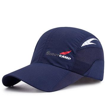 ชายหญิงกลางแจ้งกีฬารวดเร็ว Drying หมวกเบสบอล Breathable Trucker หมวกตาข่าย
