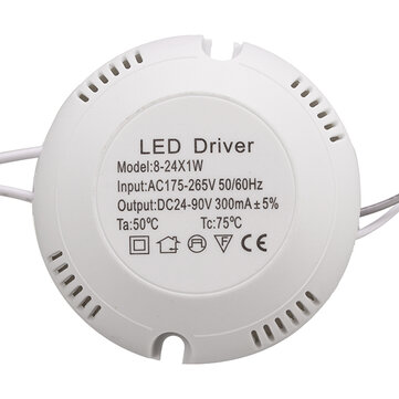 AC180V-260V 8-25W LED Driver Power Supply for Ceiling Lamp