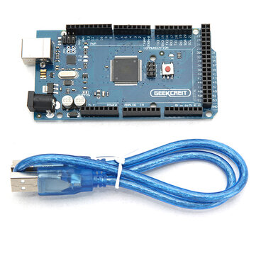 Geekcreit® MEGA 2560 R3 ATmega2560-16AU MEGA2560 Development Board With USB Cable For Arduino