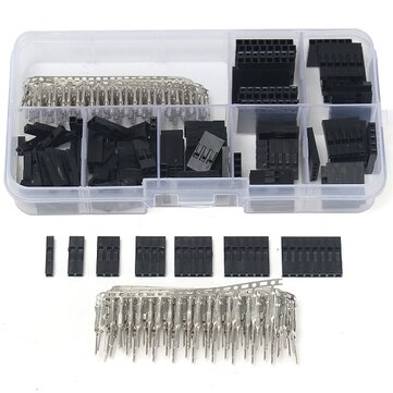 Geekcreit® 310pcs 2.54mm Male Female Dupont Wire Jumper With Header Connector Housing Kit
