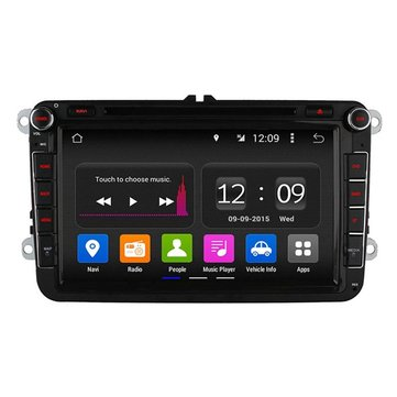 Ownice C180 OL-8992B 8.0 Inch Car GPS Navigation DVD Multimedia Player 2G RAM for Volkswagen Passat Golf Bora
