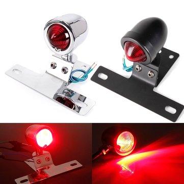 Motorcycle Bullet Rear Tail Stop Light Brake Lamp For Harley