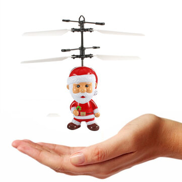 Induced Flying Santa Claus Inductive Toy Christmas Gift for Kid