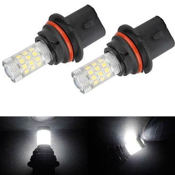 2pcs 9004 650LM 4.8W 2835 SMD 36LED White Car Light Bulb DRL Fog Headlights