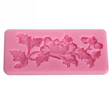 Carving Silicone Fondant Mold Cake Decorating Mould Gum Paste Sugarpaste Mold FDA LFGB