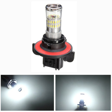 H13 3014 48SMD LED Car White Fog Light Bulb Headlight DRL 600LM 4.8W