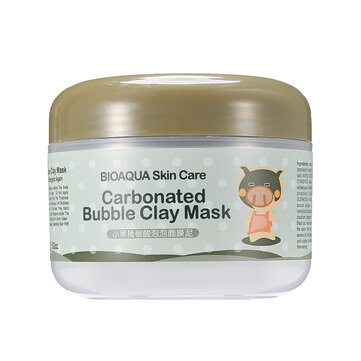 Carbonated Bubble Clay Mask Whitening Oxygen Mud Blackhead Remove Acid Pore Cleansing