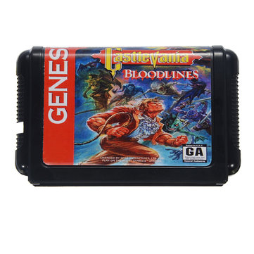 Castlevania Bloodlines Game Cartridge 16 bit Game Card for Sega MegaDrive Genesis NTSC System