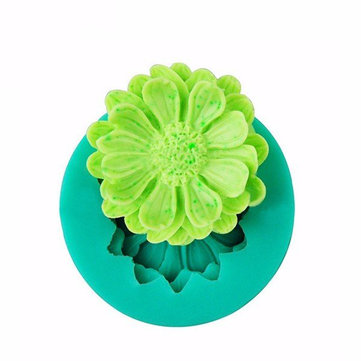 3D Mini Flower Silicone Fondant Cake Mold Cake Decorating Mould