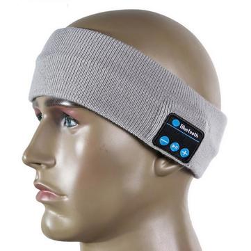 บลูทู ธ กีฬาเหงื่อศีรษะไร้สายแฮนด์ฟรีเพลงกีฬาหมวกสมาร์ทโทรออกฟรีหูฟัง Hea