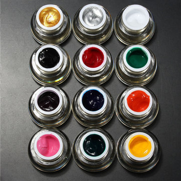 DANCINGNAIL UV Nail Art Phototherapy Design Acrylic Color Painting Drawing Gel Paint Draw