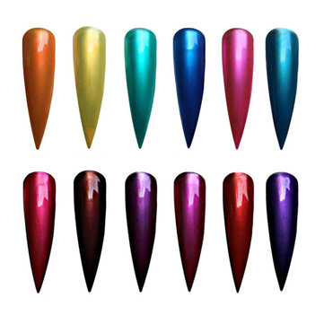 20 Colors Nail Art Metal Color Amber Sky Gel Polish Soak Off UV Gel Polish