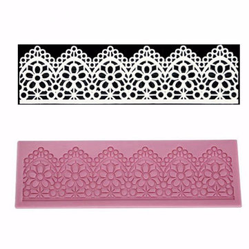 Lace Cake Mold Silicone Fondant Cup Cake Decoration