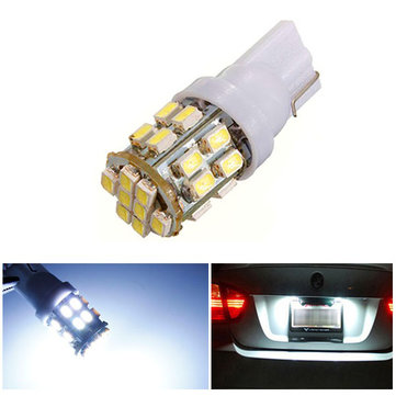 Buy T10 W5W 194 147 24 SMD 1206 3020 LED Car Signal Side Light Bulb for $1.57 in Banggood store