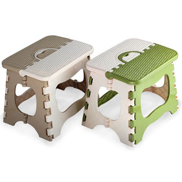 Portable Folding Plastic Small Chair Stool Picnic Camping FishingTravel Outdoor Furniture
