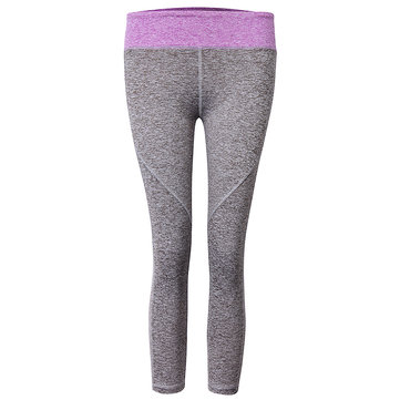 Women Sports Yoga Pants Running Exercise Tights Compression Trousers Gym Slim Leggings