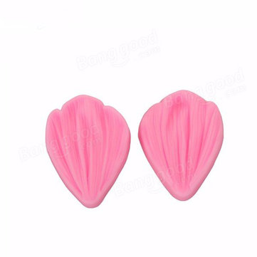 Daisy Flower Petal Fondant Cake Baking Mold Soap Chocolate Silicone Mould 2PCS