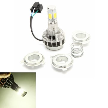 12V H4 30W 3600LM 6000K M5S Motorcycle LED Headlight Five Surface Ultra Bright Light