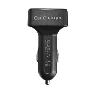 EC2 4 1 Dual USB Araba Şarj Aleti Adaptörü 3.1A Bullet Araba Cep Telefonu Şarj Aleti
