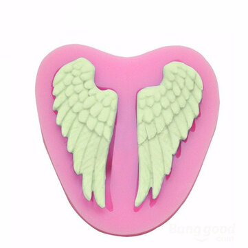 Ali di angelo del silicone del fondente della muffa del cioccolato del polimero di muffa