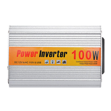 SGR-NX1012 Car Auto Power Inverter Converter Adapter 100W DC12V to AC110V Output