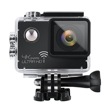 SJ8000 Sport Action Camera WiFi 4K 2K Waterproof 2 inch Screen 170 Degree Wide Angle