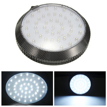 Car 12V 46 LED Interior Roof Ceiling Dome Door Indication Light Reading Lamp