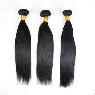 6A Grade Brazilian Virgin Unprocessed Straight 100% Real Human Hair Extension