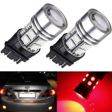 T25 3157 Q5+12 LED 5050 SMD Car Tail Signal Lamp Bulb RED