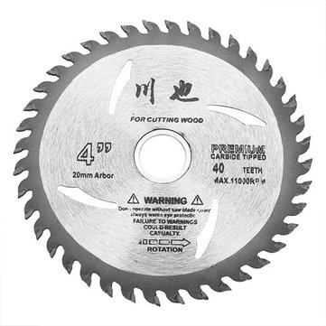 4 Inch 40Teeth Circular Saw Blades Tungsten Steel Alloy Saw Blades