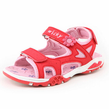 Children Two Strap Sandals Boys Girls Summer Casual Beach Shoes Kids Open Toe Flat