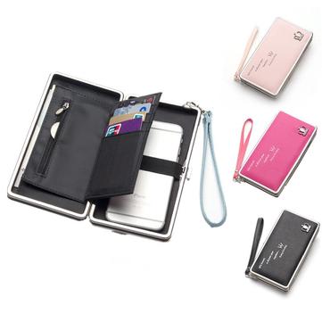 Bakeey ™ universale borsa della borsa del raccoglitore dell'unità di elaborazione del telefono delle donne da 5.5 pollici per Xiaomi Huawei Samsung iPhone 7