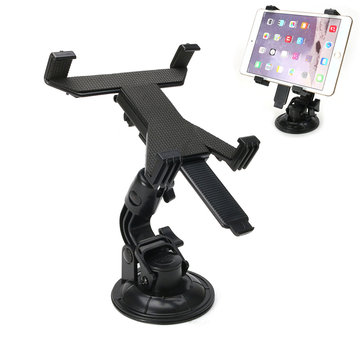 360 Degree Rotation Car Windshield Holder Desk Suction Cup Mount Stand for iPad Tablet PC