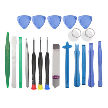 20 In 1 Mobile Phone Repair Tools Screwdrivers Pry Kit For Smartphone PC Tablet